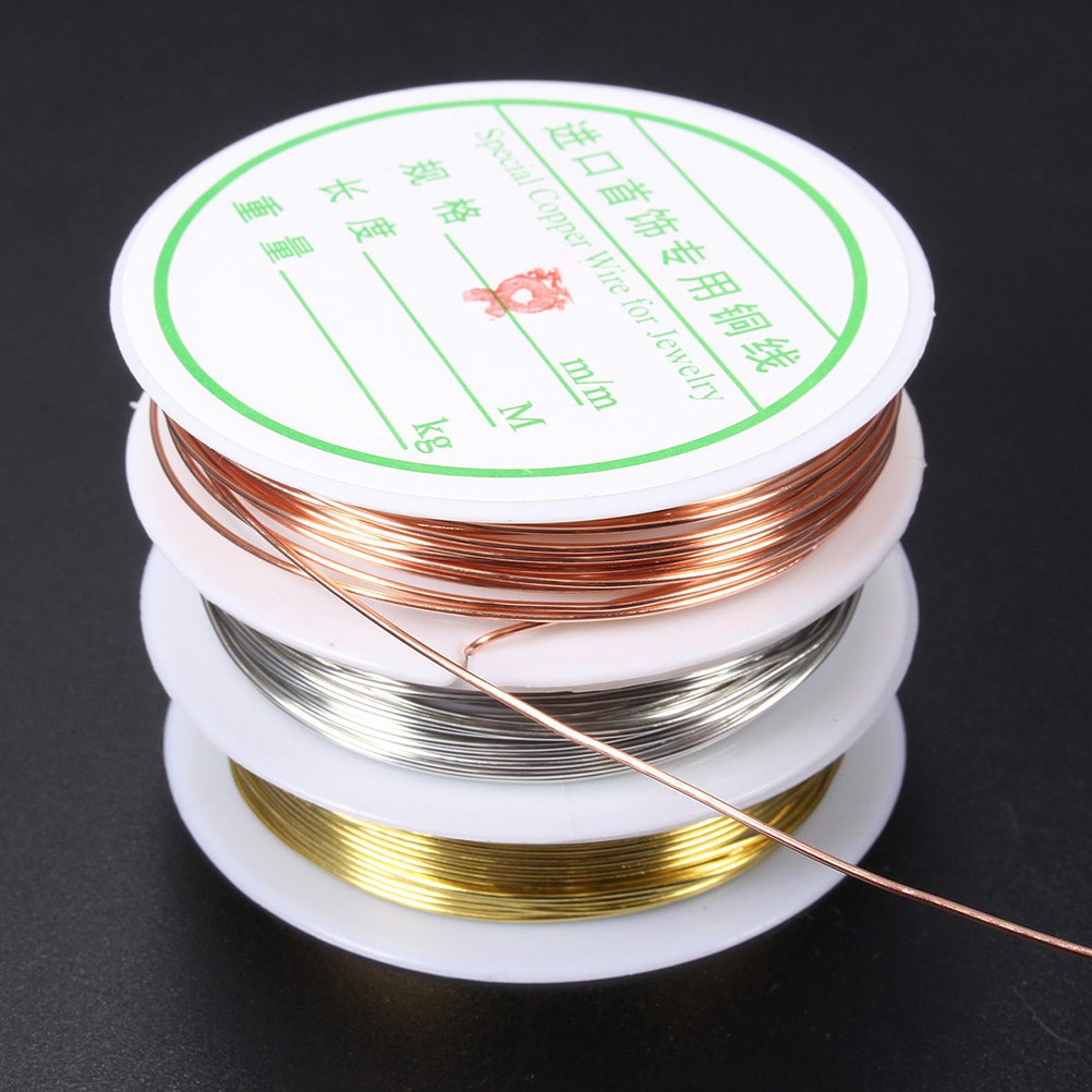 1x Plated Copper Wire Beads Jewelry Making DIY Craft Fashionapple | Shopee Philippines