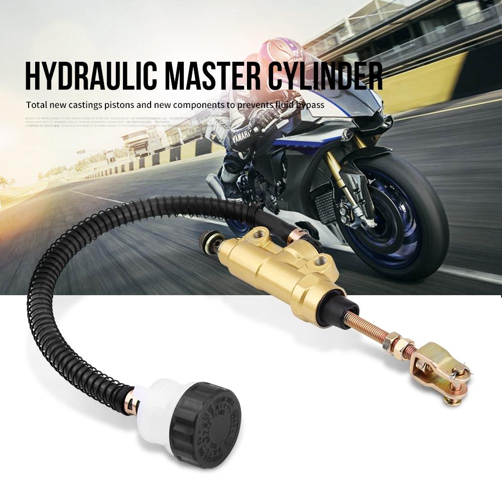 Rear Foot Brake Master Cylinder Pump Reservoir for Honda
