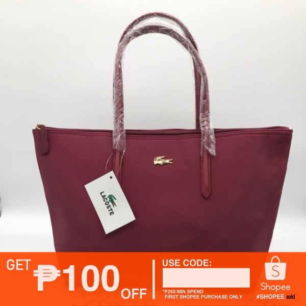 Yvon 5002 Lacoste Ping Bag 17 11 Inch