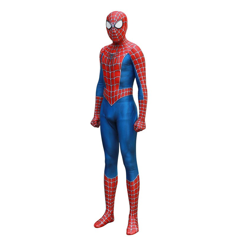 Movie Spider-Man Homecoming Hero Kids Cosplay Costume Outfit Suit Jumpsuit Tight