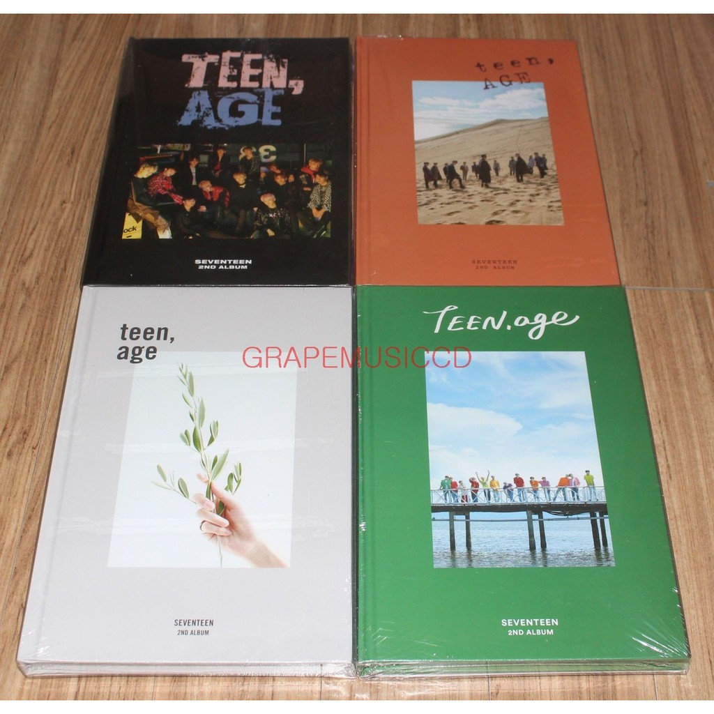 Seventeen All 8 Albums Lot Shopee Philippines Teen Age 2nd Album