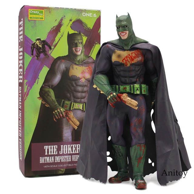 1//6 Scale Crazy Toys DC Batman Action Figure Toys Statue Boxed In Stock