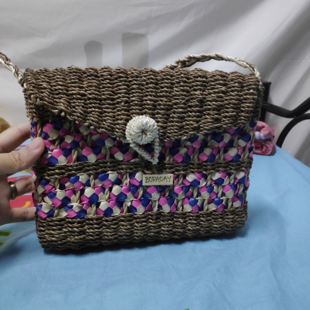 174e029c8010 Boracay handmade Native Straw bag
