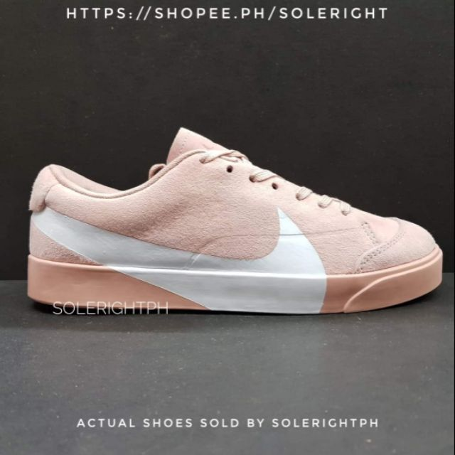 newest a34b0 92f3f Nike Blazer City Low XS 'Pink/White'