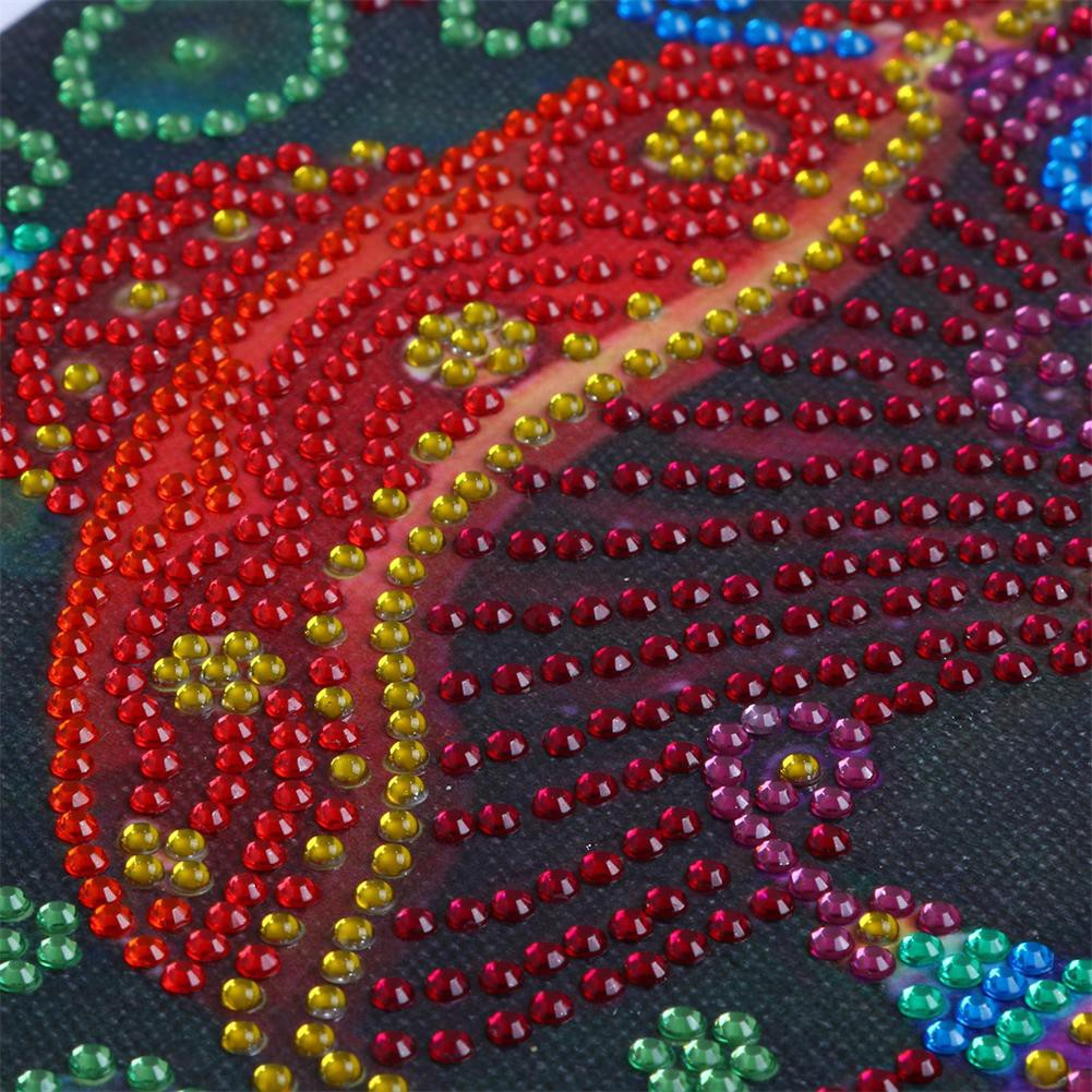 DIY 5D Diamond Mushroom Embroidery Painting Cross Stitch Craft Home Decor
