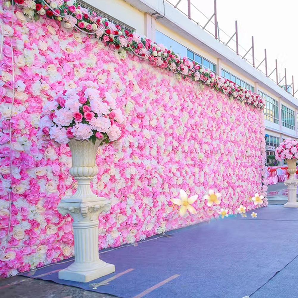 Wedding Background Flower Wall Decor