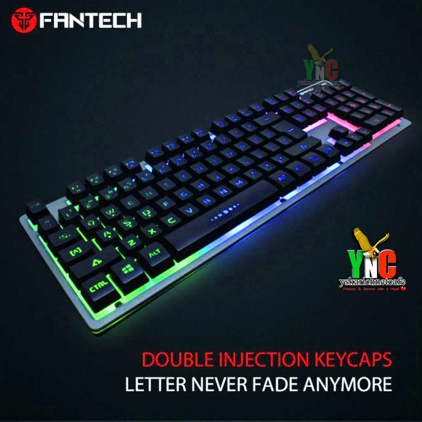 5a2ac1cbf0c Fantech Fighter K611L 104 Non-fading Keycaps Gaming Keyboard | Shopee  Philippines