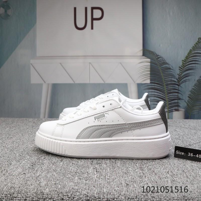 Puma Black And White Men's Women's Shoes 36 45 Rihanna Ii Simple Edition 364718 03