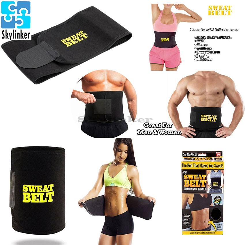 f0d0f2bfd50 Sweet Sweat Premium Waist Trimmer Belt for Men   Women