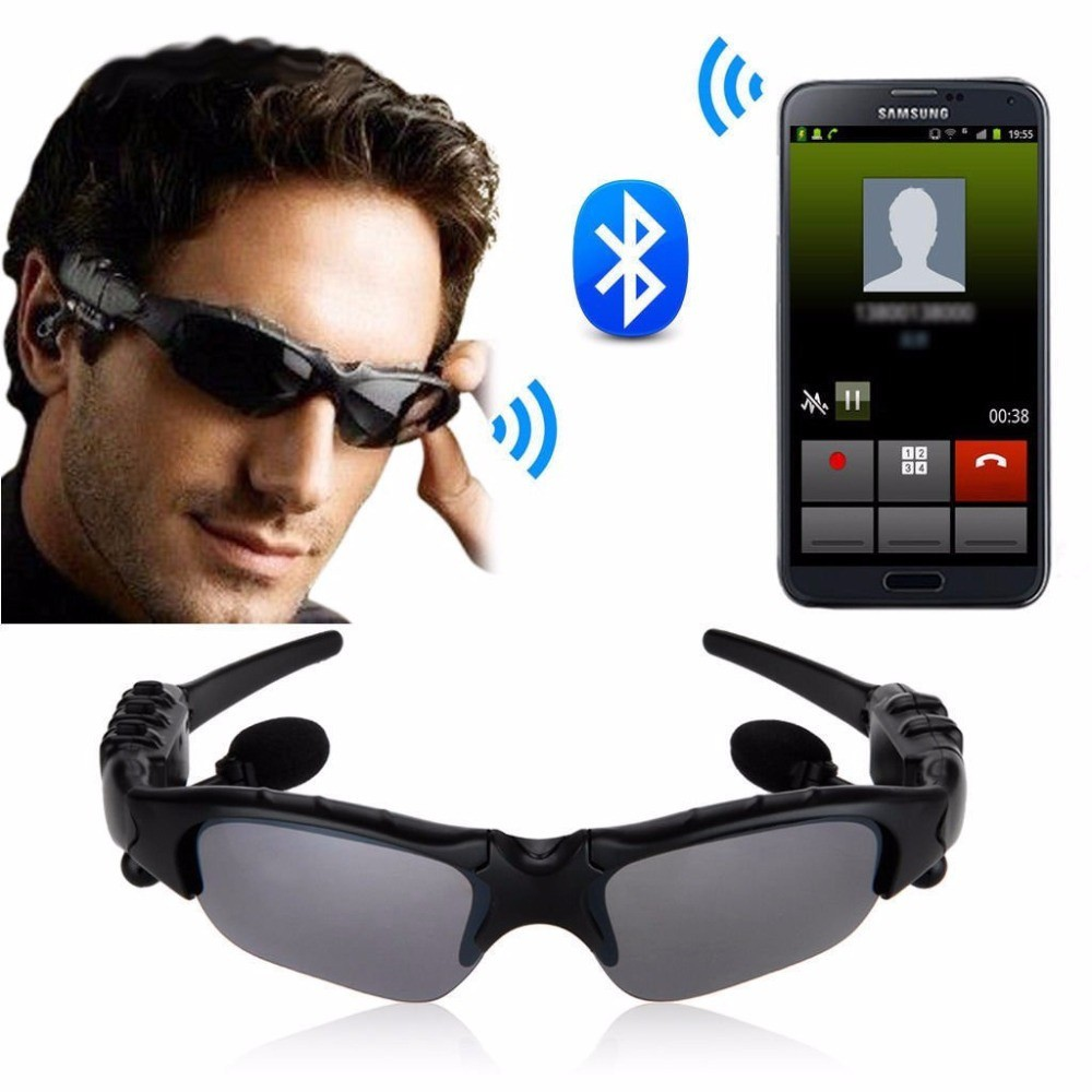 Stereo Bluetooth headset Sunglasses Glasses Shades Play MP3//Call from phone