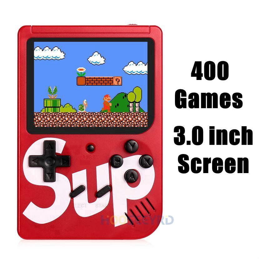 Sup Gameboy Game Boy Console 400 Retro FC Player Classic Retro Games Mario