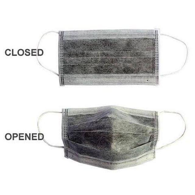 Facemask Carbon Carbon 4ply-sureguard Facemask