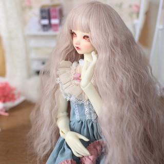 High temperature silk ponytail wig Hair For 1//3 1//4 1//6 BJD Doll