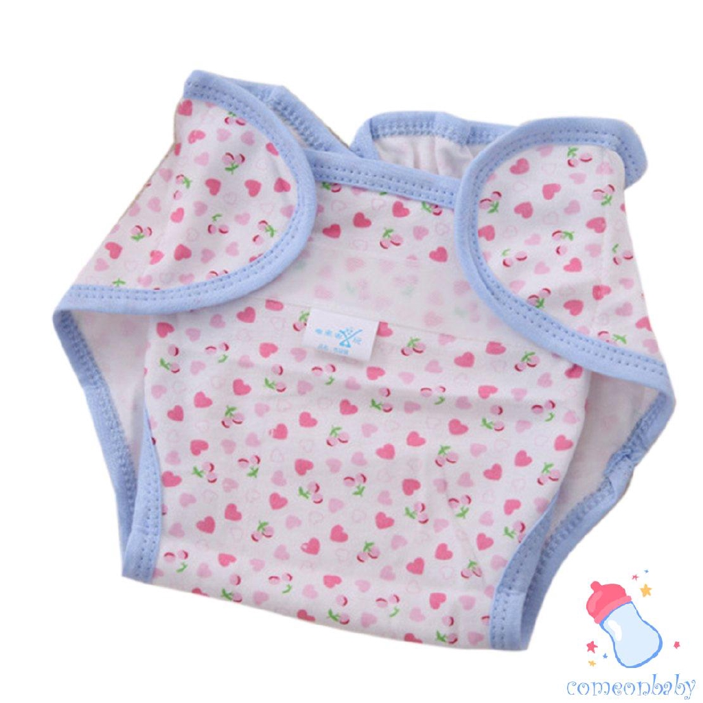 10Pcs White Eco-friendly Reusable Cotton Nappy Diapers for Newborn Baby Care