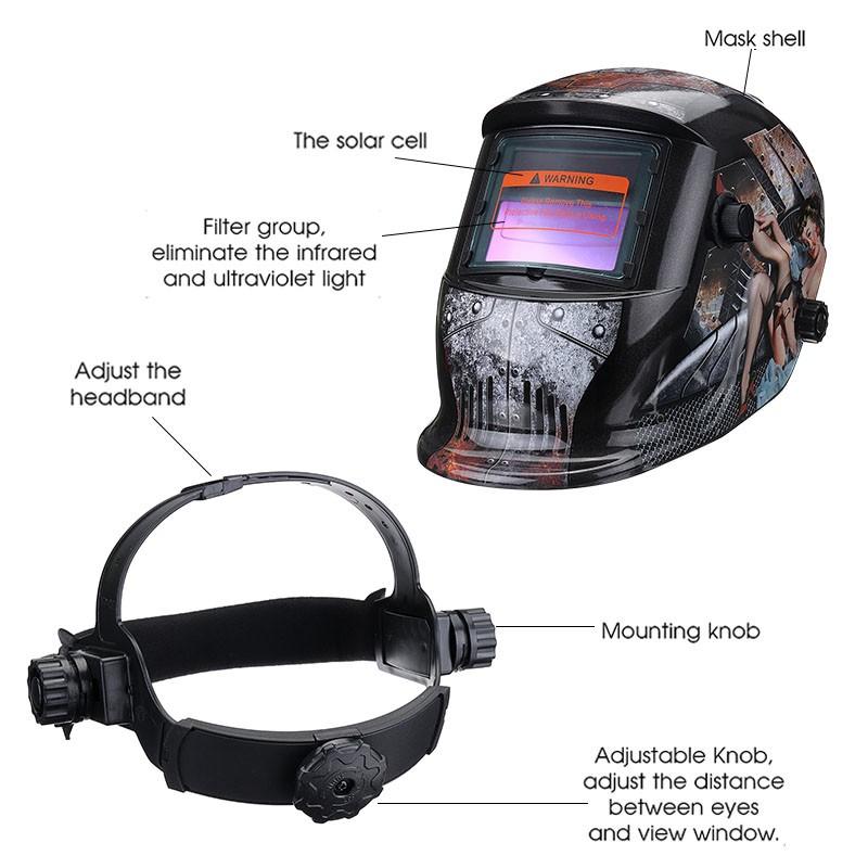 1xAdjustable Welding Welder Mask Headband For Solar Auto Dark Helmet Accessories