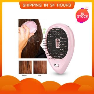 Pritech Mini Hair Comb Electric Massage Hair Brush Ionic