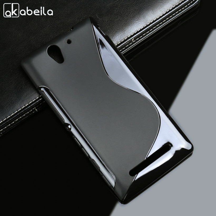 Silicone Case For Sony Xperia C3 D2533 Covers Sline Soft TPU