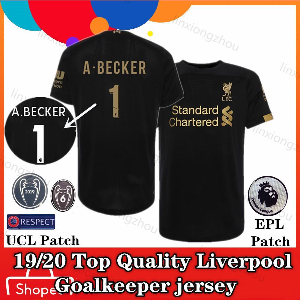 the latest 19085 1f0f5 19/20 Liverpool goalkeeper jersey Football Jersey