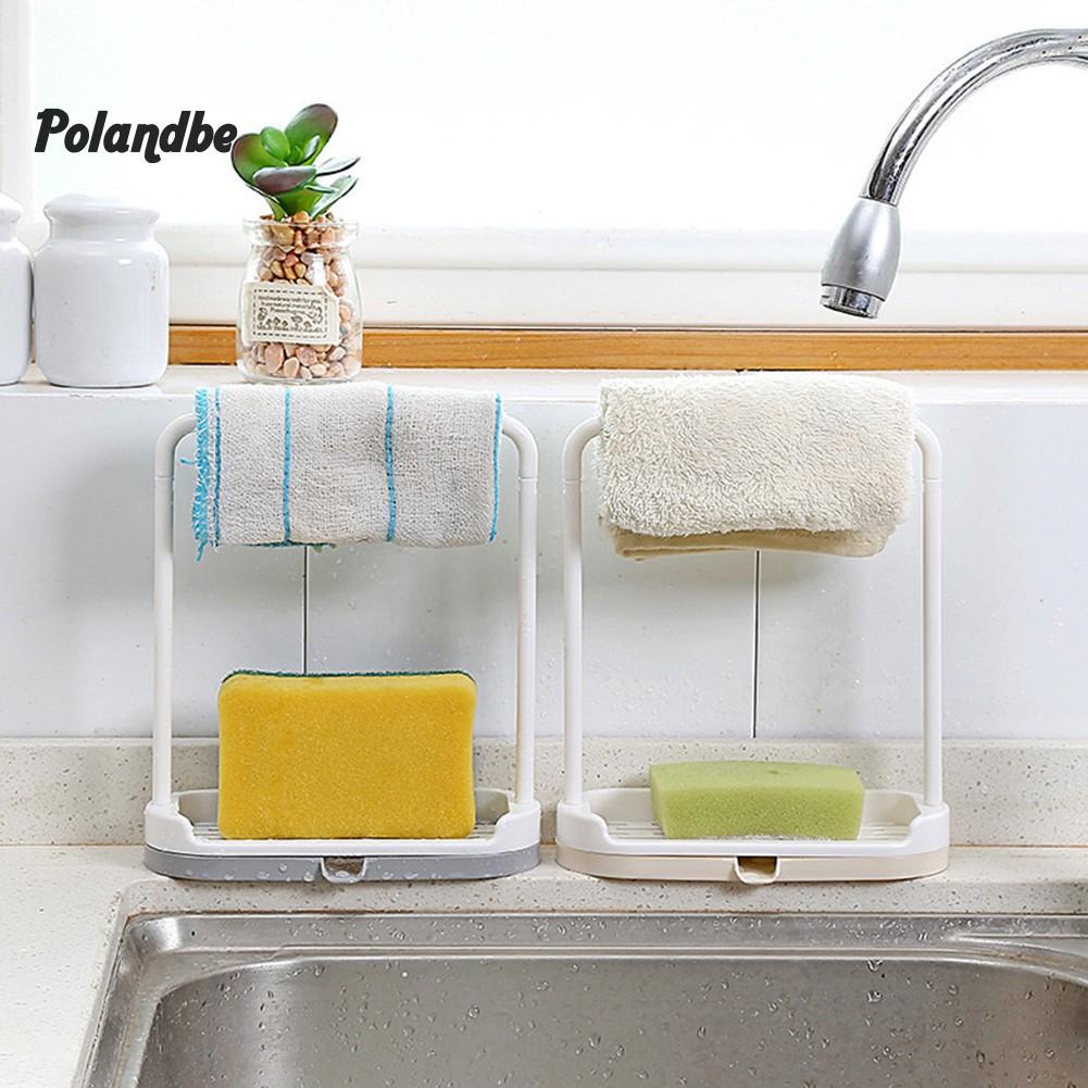 Dish Towel Cleaning Sponge Holder