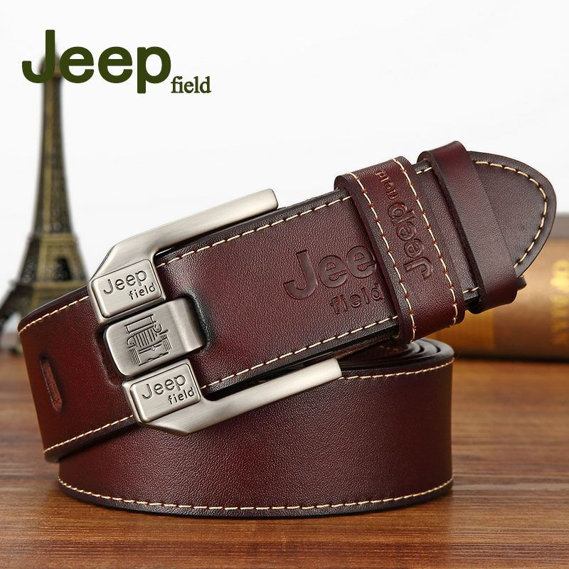 Black MEN/'S LEATHER BELT 100/% GENUINE Brown//White 30/'/' to 64/'/'