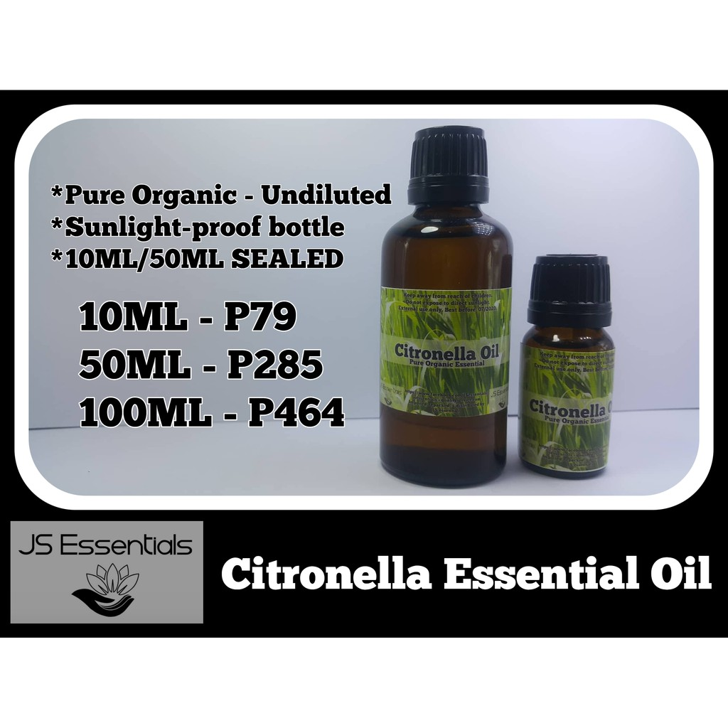 Productimage Citronella Essential Oil