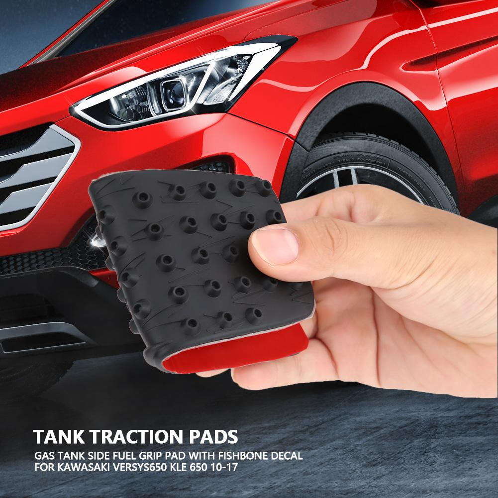 Motorcycle Accessories & Parts Motorcycle Anti Slip Tank Pad 3d Side Gas Knee Grip Traction Pads Protector Stickers For Kawasaki Versys 650 Accessories Frames & Fittings