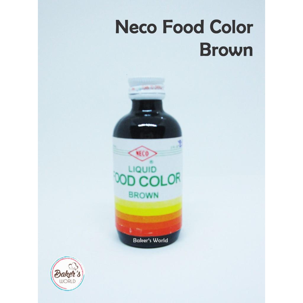 Neco Food Color 60ml | Shopee Philippines