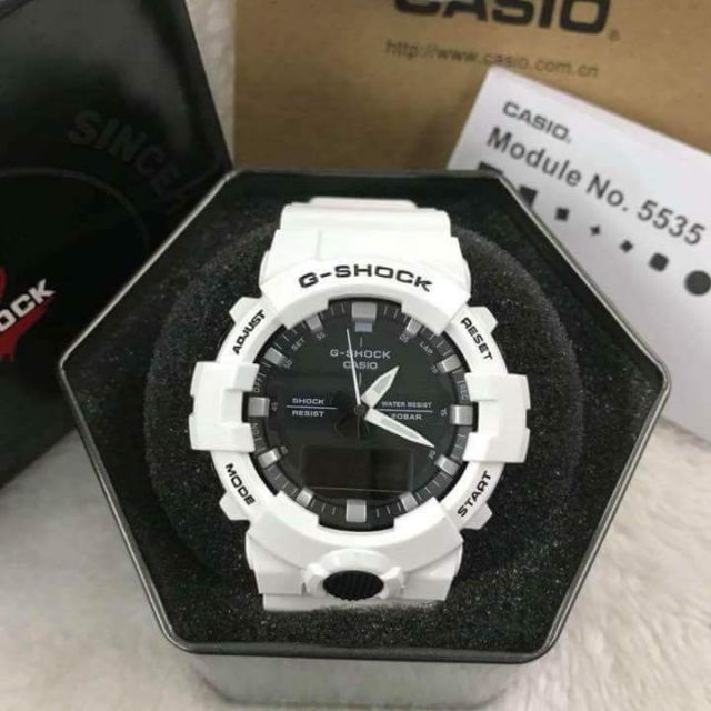 new arrival 2281e fefe9 G SHOCK GA 800 Japan Made OEM With Step Tracker