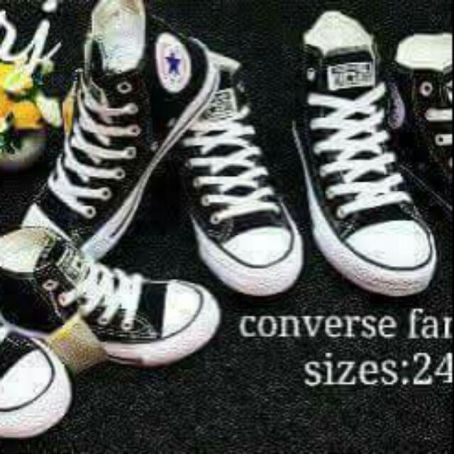 462551d0fd91 Family set converse shoes