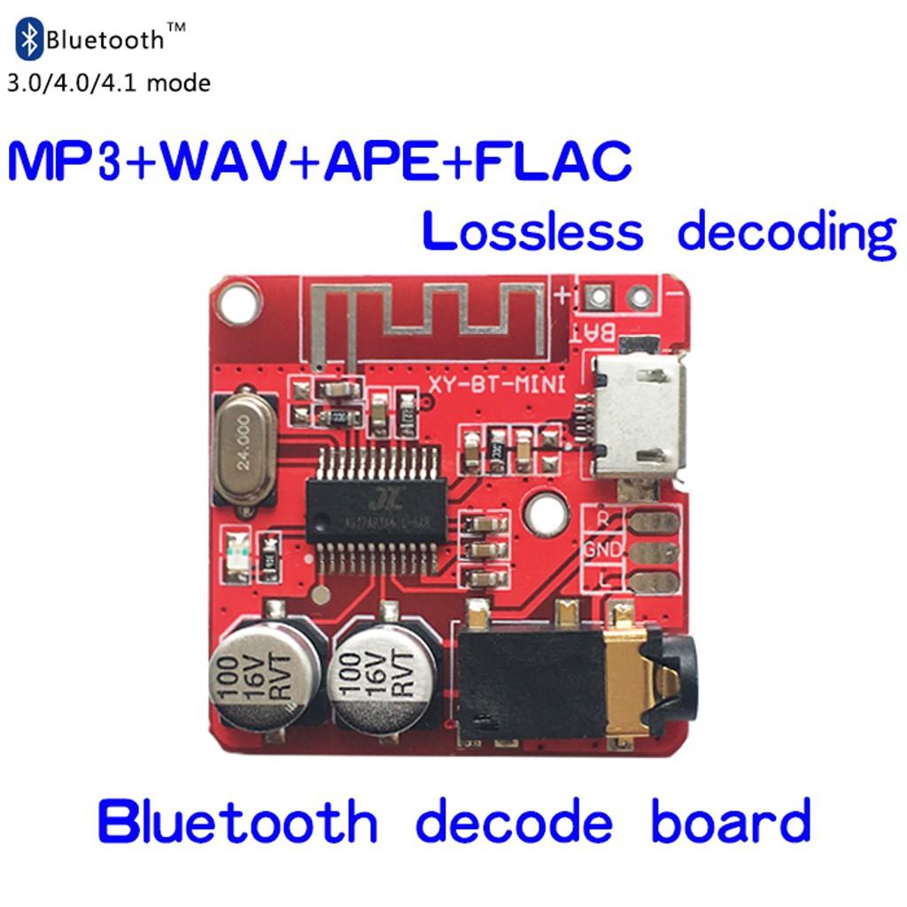 3 7-5V MP3 Bluetooth Lossless Decoder Board Car Stero Speaker Amplifier  Module