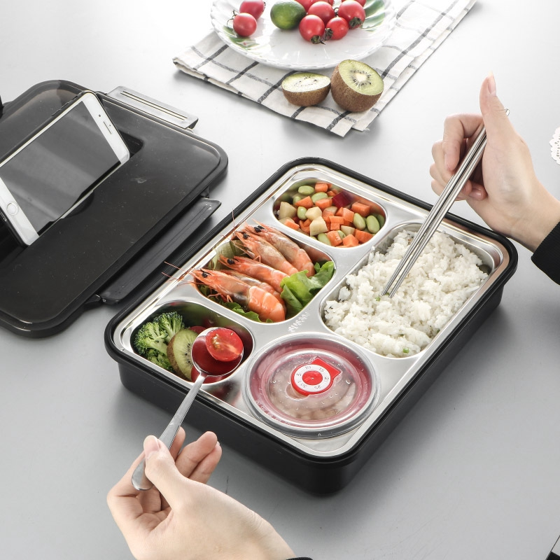 Stainless Steel Lunch Bento Box   Shopee Philippines