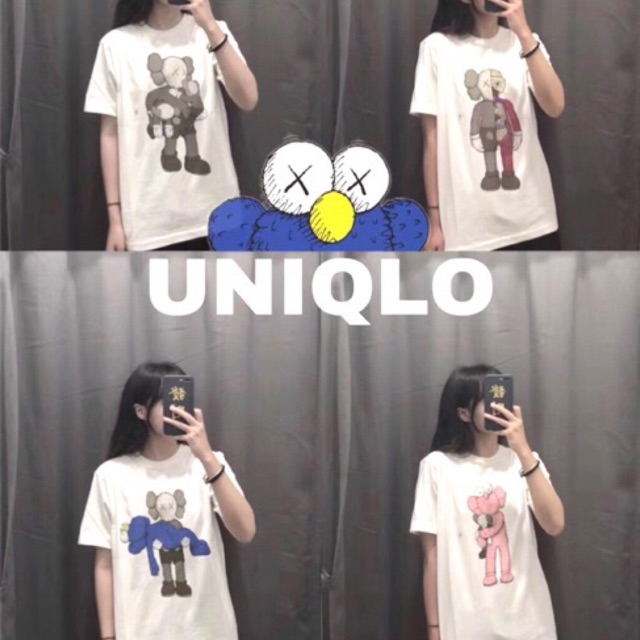 FRNC Uniqlo x Kaws Same Street Embroidered T-Shirt Unisex
