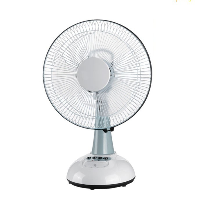 Akari 12 Oscillating 3 Speed Rechargeable Desk Fan Shopee