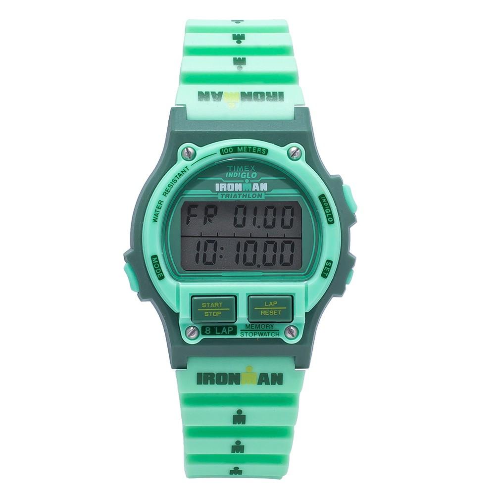59dc59f3087b2 Timex Ironman 8 Lap Green Rocket Unisex Watch TW5K99700