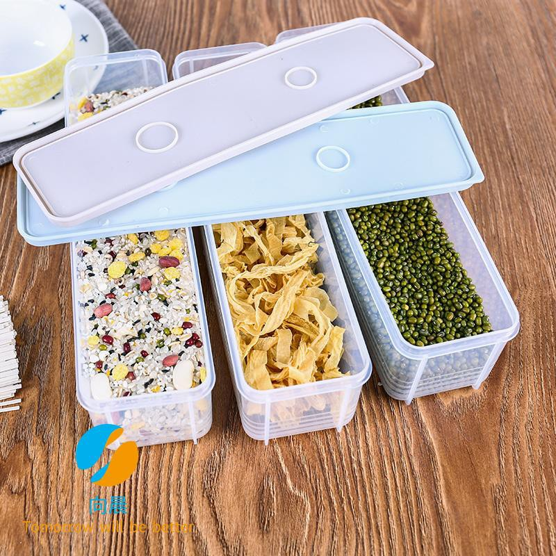 Refrigerator plastic cover Japanese noodle storage box food