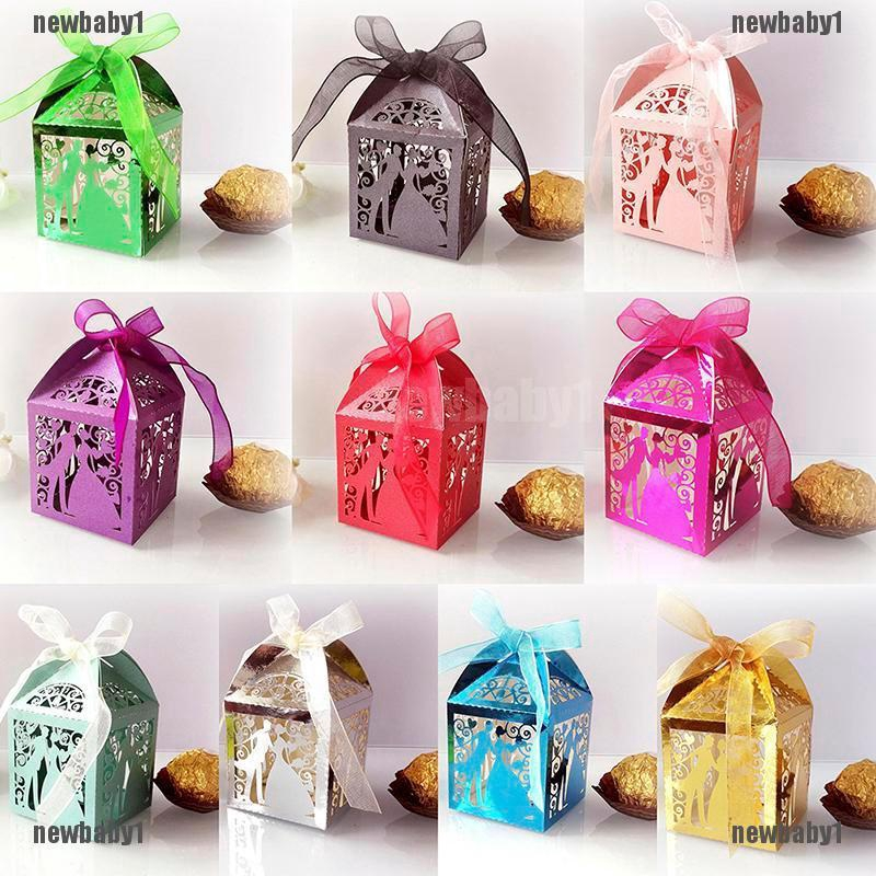 SMALL Black Treat Boxes Wedding Confetti Favour Loot Gift Party Cupcake Box
