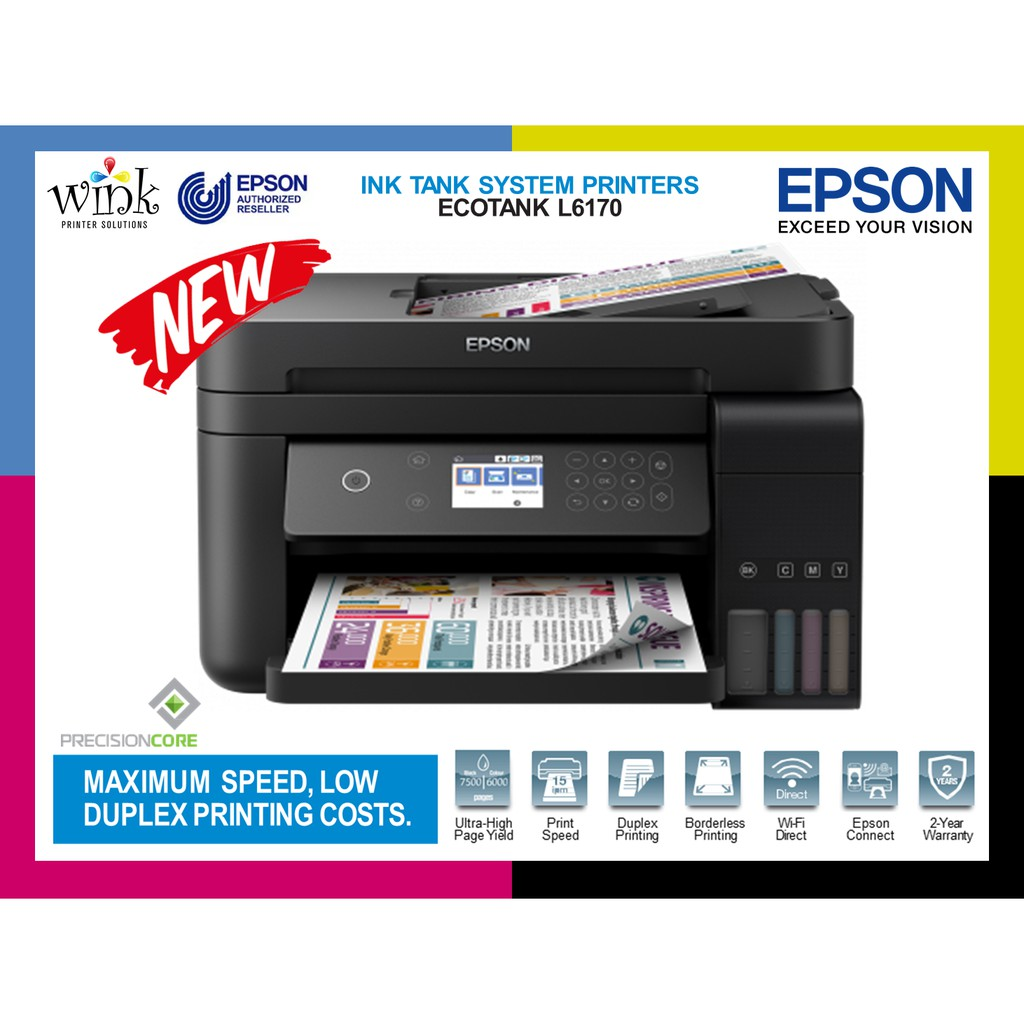 EPSON L6170 with Original Inktank and Ink