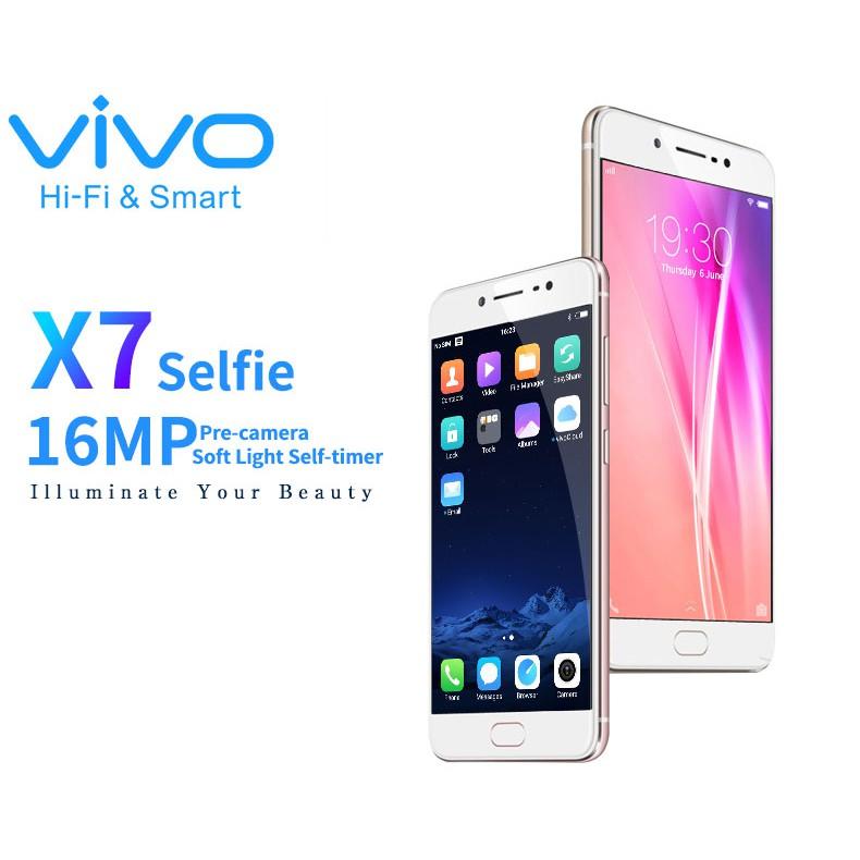 VIVO X7 16MP Selfie Mobile Phone Ultra-thin Design Cellphone