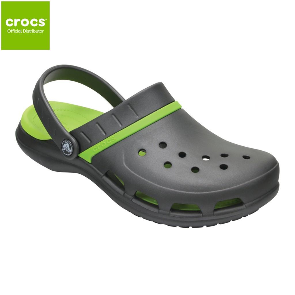 6a7eecc7159a1 Crocs Unisex MODI Sport Clog Graphite Volt Green