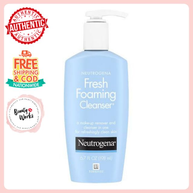 NEUTROGENA Fresh Foaming Cleanser 6 7oz