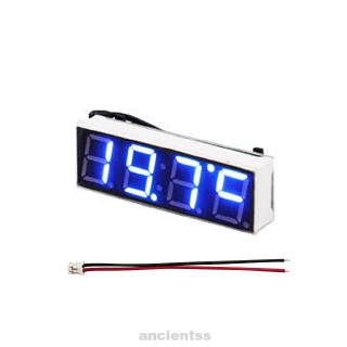 Stick GN Auto Digital Car Dash LCD Clock Time Date Display Self