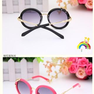 42cc6dfeba8b Children Metal Frame Sunglasses Double Metal Bridge Sun Shades ...