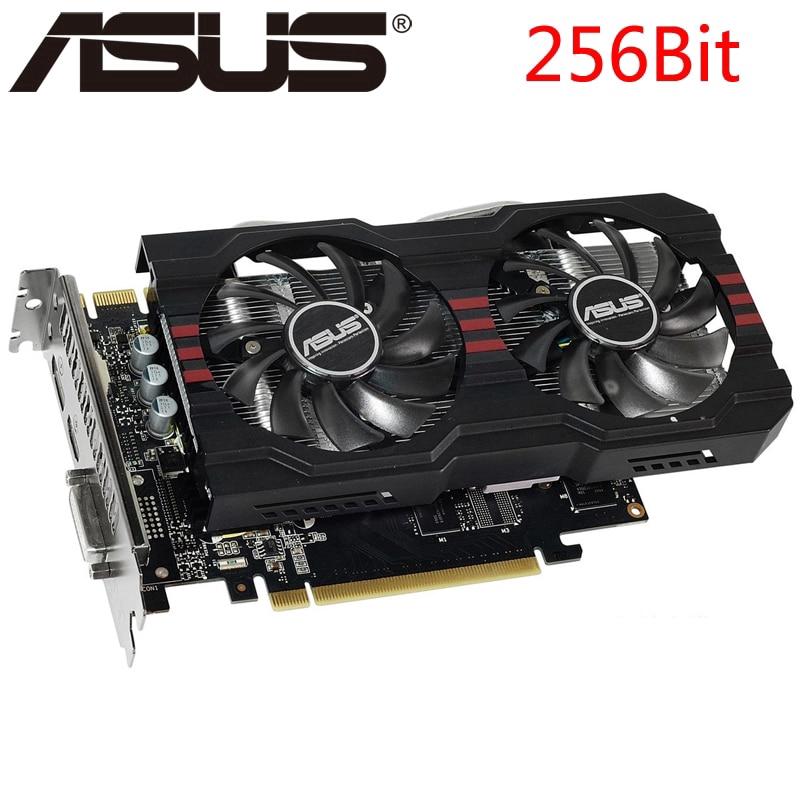 ASUS Graphics Card GTX 760 2GB 256Bit GDDR5 Video Cards for nVIDIA VGA  Cards Geforce GTX760