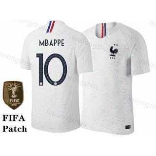 sale retailer 7c240 c892b Top quality 18/19 France Home Jersey Football Shirt | Shopee ...