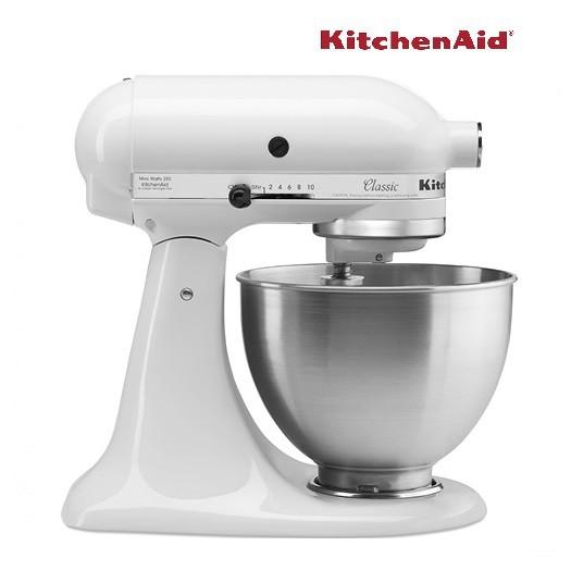 Kitchenaid 4 5 Qt Classic Mixer White 220v