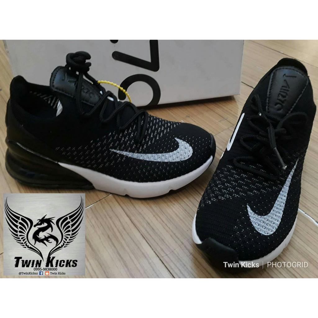 competitive price e5a77 8a265 Nike Airmax 270 Flyknit 'Black/White' (Women)
