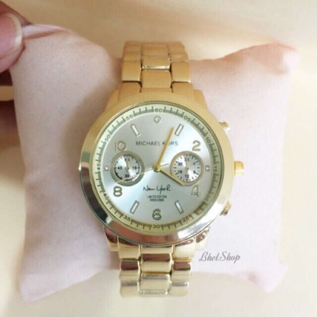 10d7025fa622 NEW YORK LIMITED EDITION MICHAEL KORS LADIES WATCH -GOLD