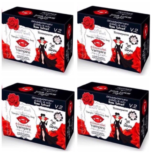 AUTHENTIC BEAUTY WHITE VAMPIRE SOAP 80g V2 NO TO FAKE | Shopee Philippines