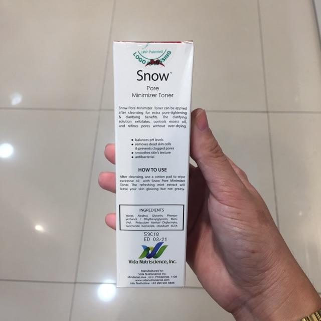 Snow Toner Shopee Philippines