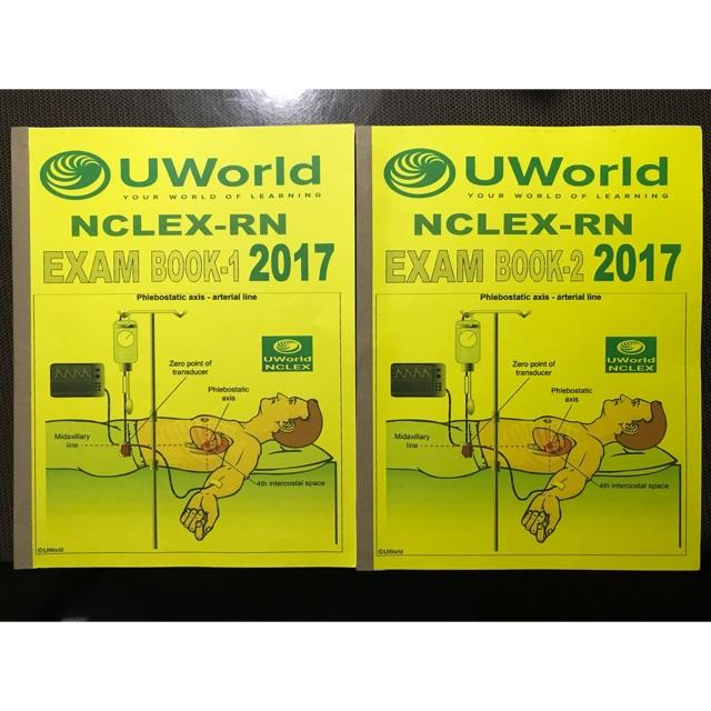 Uworld book 1, book 2
